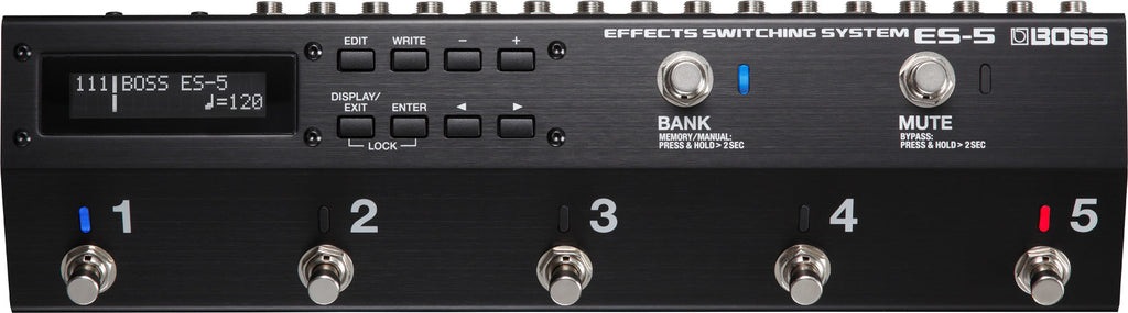 Boss ES-5 Effects Switching Pedal