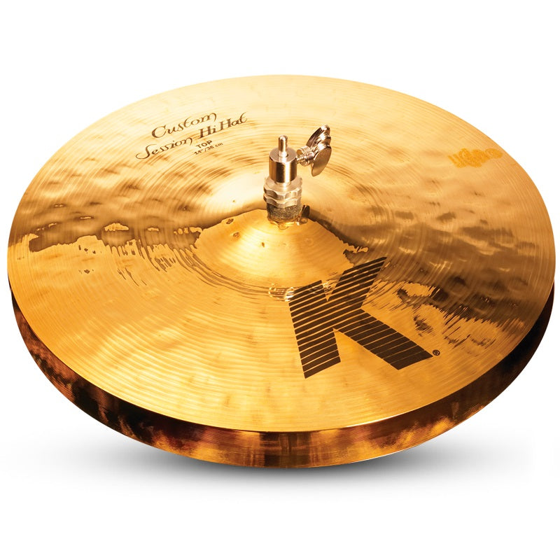 "Zildjian 14"" K Custom Session Hi Hat Cymbals"