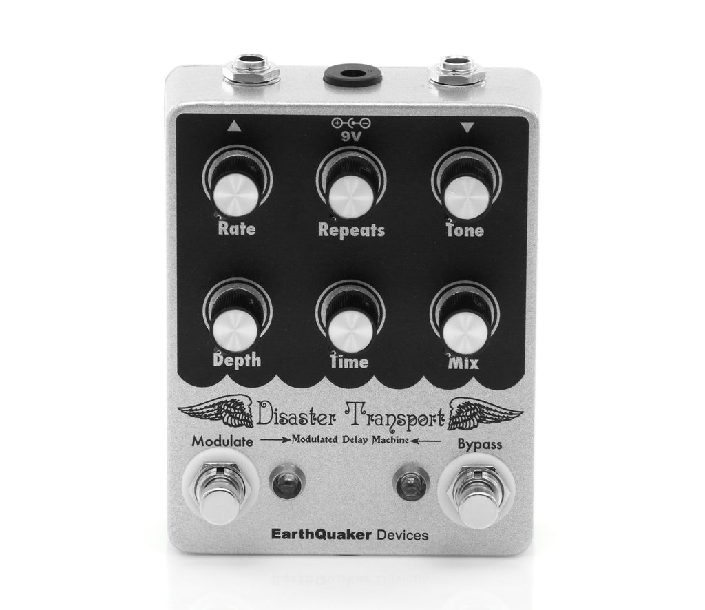 Earthquaker Disaster Transport Delay Guitar Effects Pedal