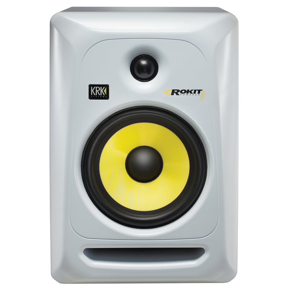 "KRK ROKIT 6 G3W 6"" Studio Monitor Pair - White (USED)"