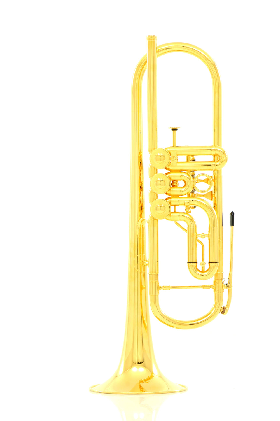 Schagerl Berlin Model Gold Plated Bᵇ Trumpet