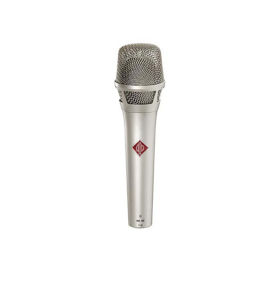 Neumann KMS 105 Supercardioid Condenser Microphone W/ KMS Pouch and SG105 - Nickel