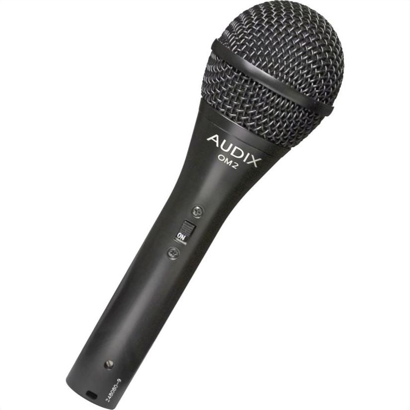 Audix OM2-S Dynamic Vocal Mic w/ Power Switch