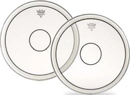 "Remo 14"" Clear Powerstroke 2 Marching Snare Drum Head With Power Dot"
