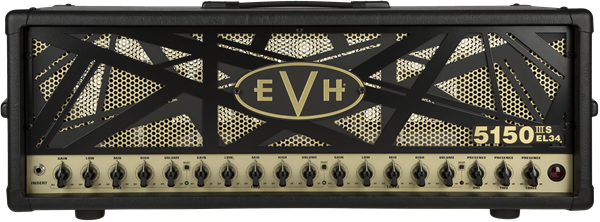 EVH 5150IIIS 100w EL34 Head - Black