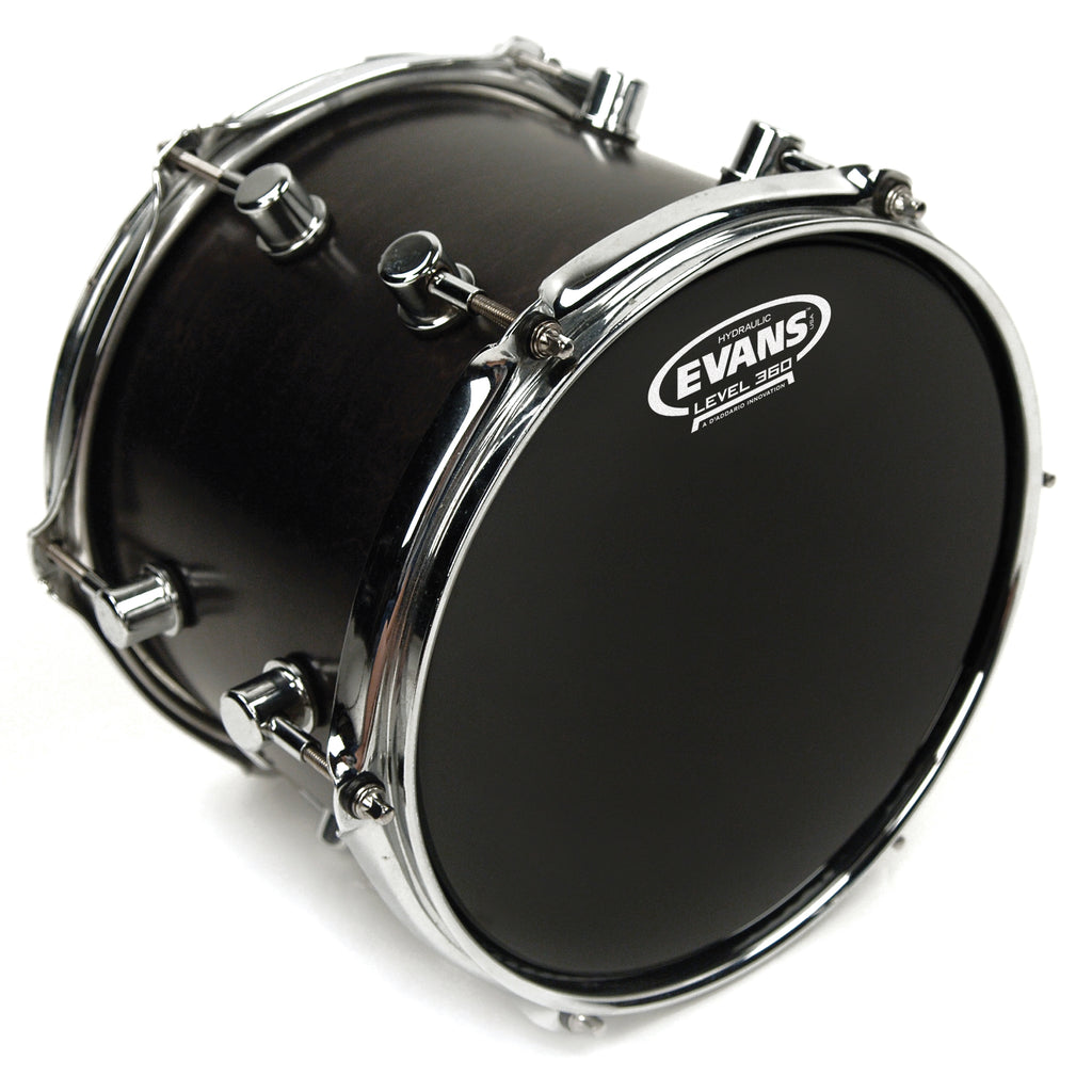 "Evans 6"" Hydraulic Black Drum Head"