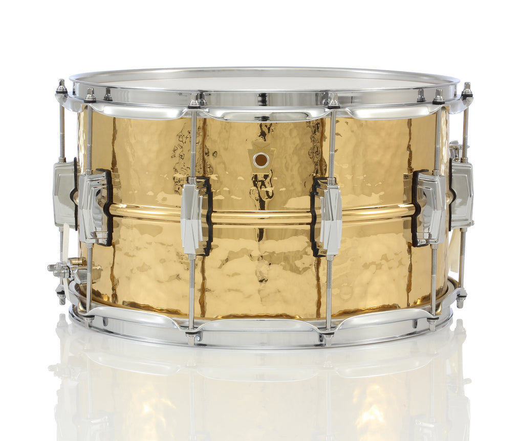 "Ludwig 14"" x 8"" Bronze Phonic Hammered Shell Snare Drum"