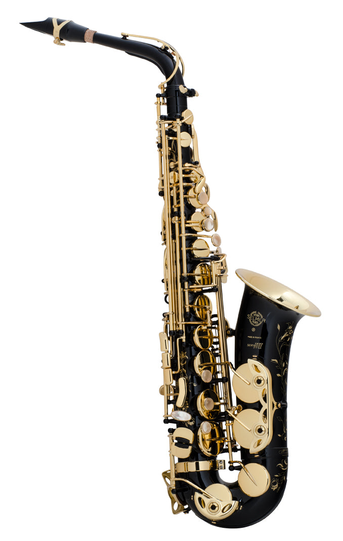 Selmer Super Action 80 Series III Alto Saxophone - Black Lacquer
