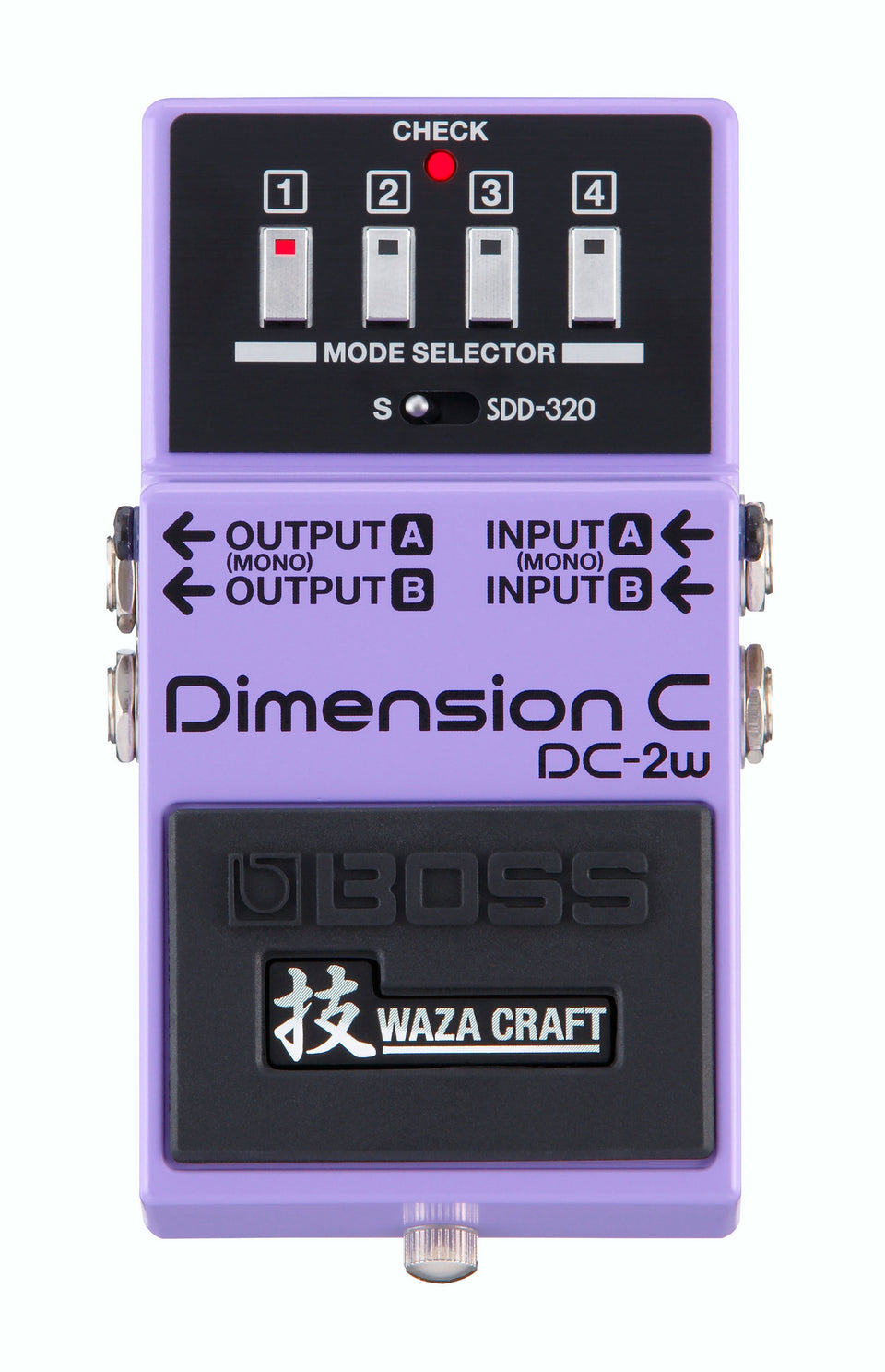 Boss DC-2W Waza Craft Dimension C Spatial Processing Pedal