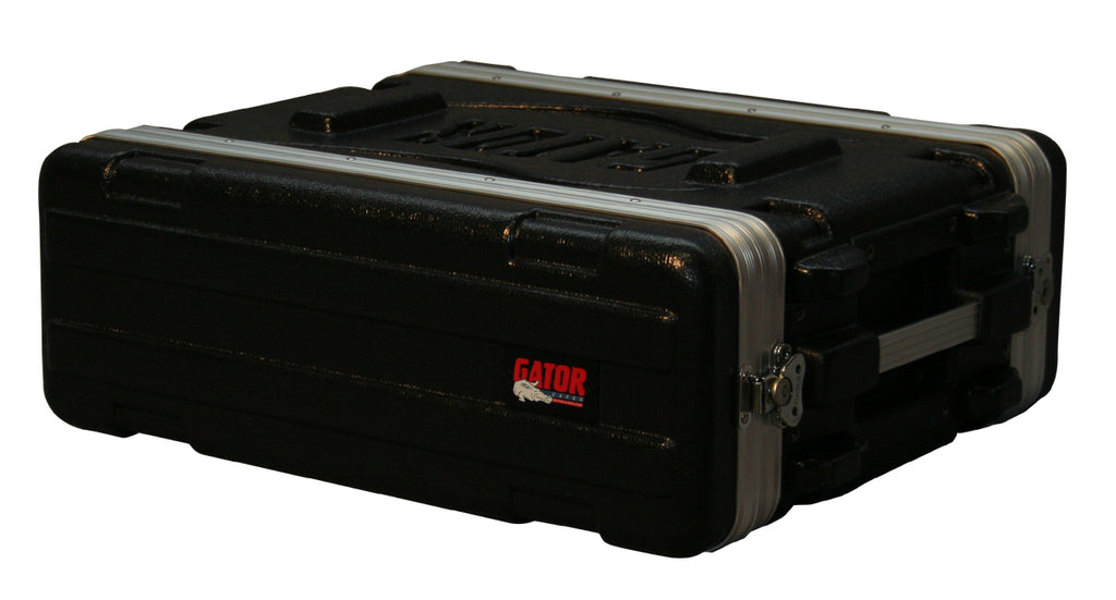 "Gator Cases GR-3S Molded PE Rack Case With Front And Rear Rails 3U x 14.25"" Deep"