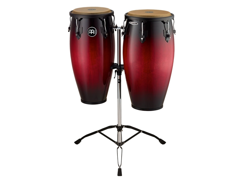 Meinl HC812WRB Headliner Series Conga Set With Stand - Wine Red Burst