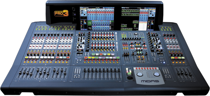 Midas PRO3-CC-TP Digital Console - Tour Package