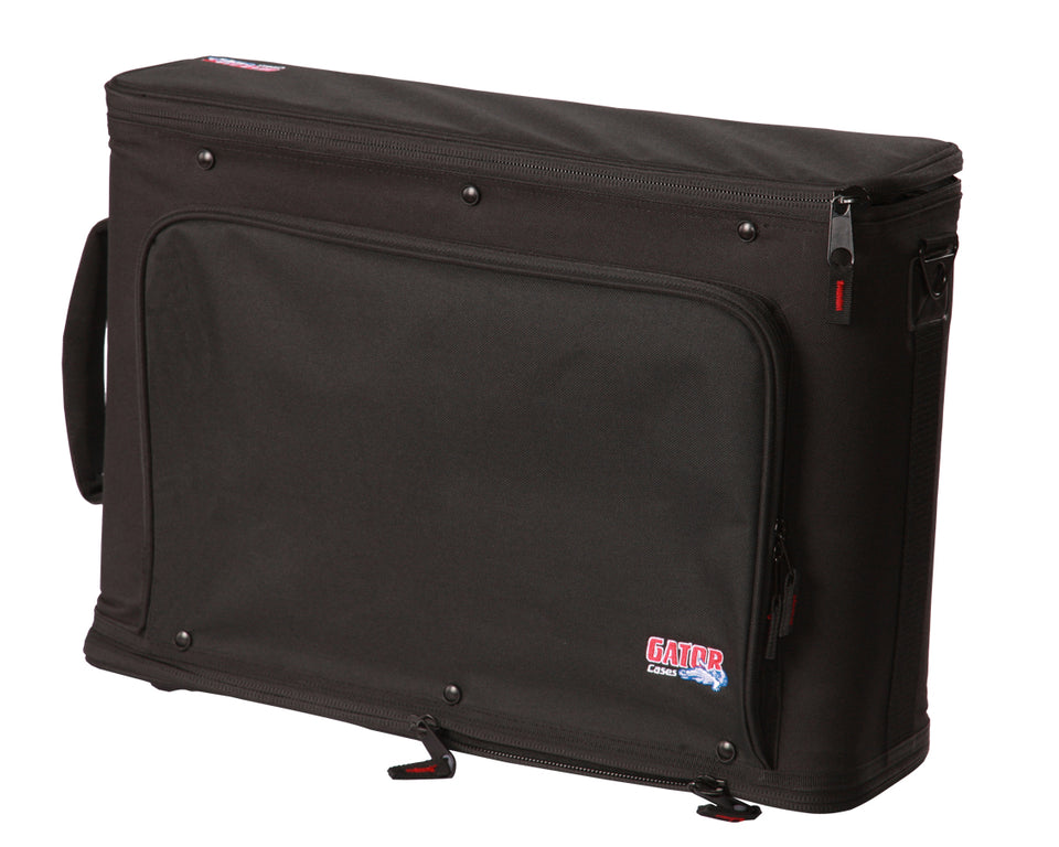 Gator Cases GR-RACKBAG-4U 4U Lightweight Rack Bag With Aluminum Frame And PE Reinforcement