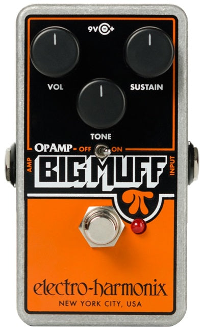 Electro Harmonix Op-Amp Big Muff Pi Distortion / Sustainer Pedal