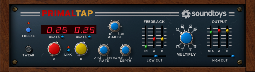 Soundtoys PrimalTap Retro Delay Plug-In