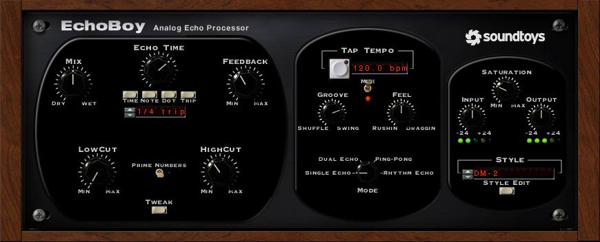 Soundtoys EchoBoy Delay Plug-in