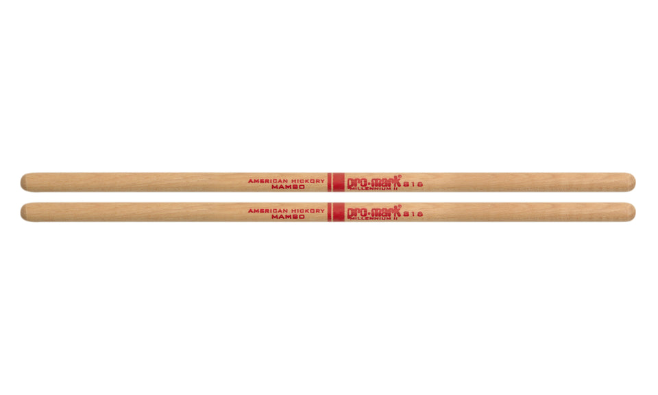 Promark TH816 Hickory Mambo Timbale Sticks - 4 Pair Pack