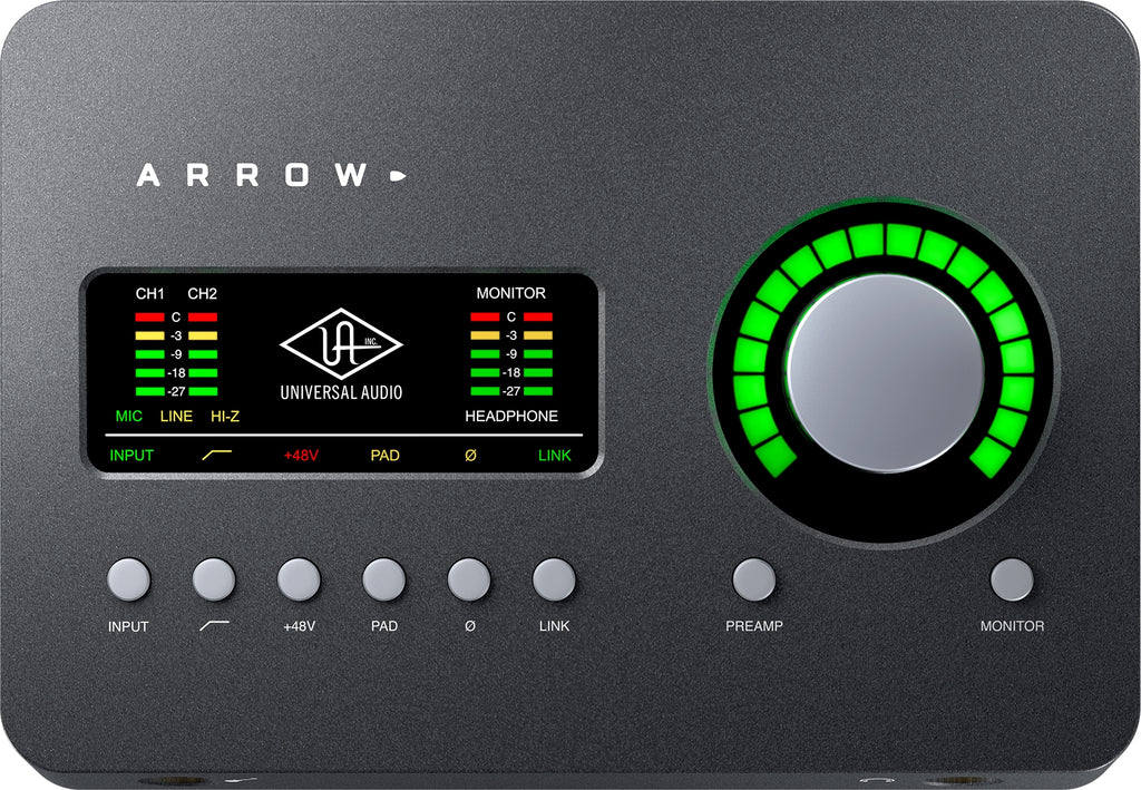 Universal Audio Arrow Desktop Thunderbolt 3 Audio Interface