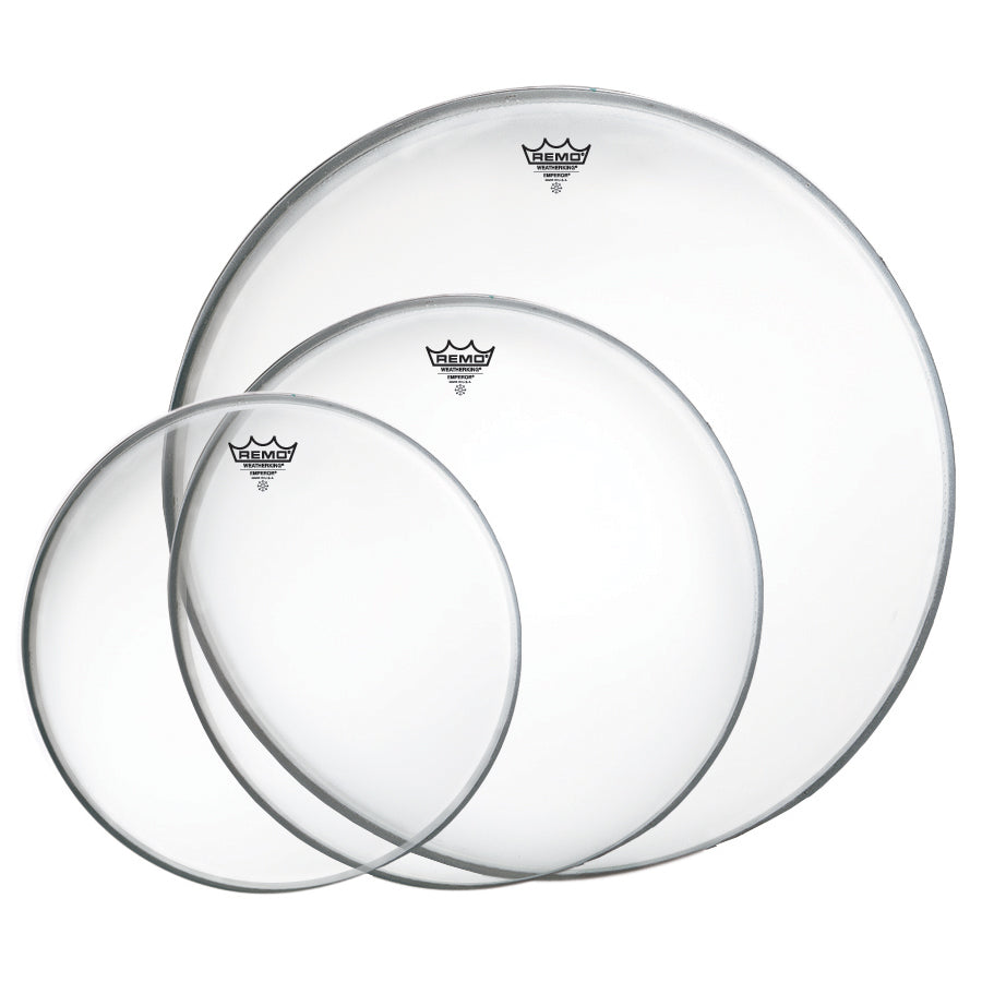 "Remo Clear Emperor Tom Drumhead Pack - 10""/12""/16"""