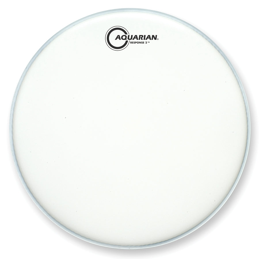 "Aquarian 14"" Texture Coated Response 2 Drum Head"