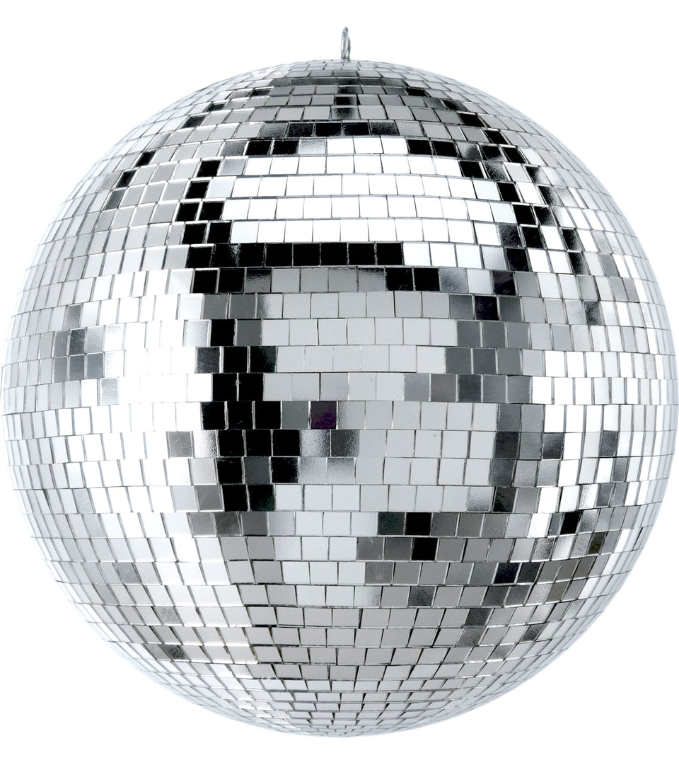 "Xstatic 12"" Mirror Ball, ABS - Glass Mirror Tiles"