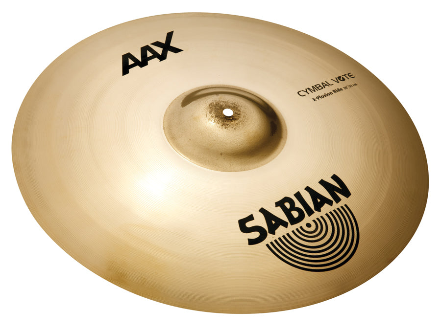 "Sabian 20"" AAX X-Plosion Ride Cymbal Brilliant Finish"