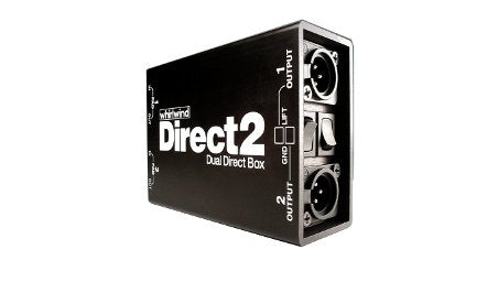 Whirlwind Direct 2 Dual Direct Box