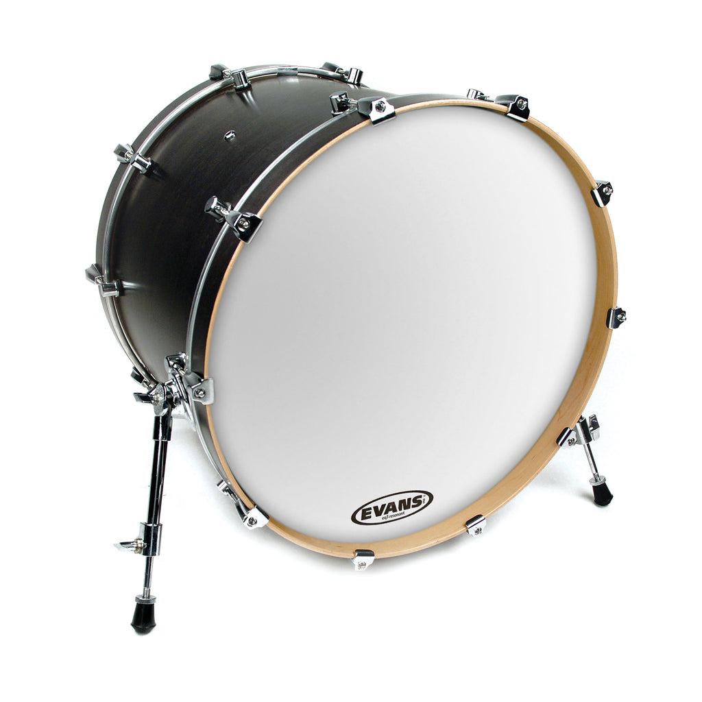"Evans 20"" EQ3 Resonant Smooth White Bass Drum Head"
