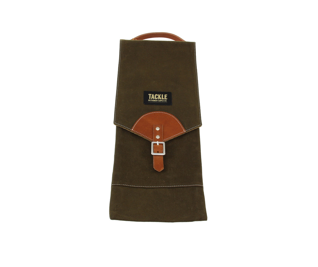 Tackle Waxed Canvas Compact Stick Bag