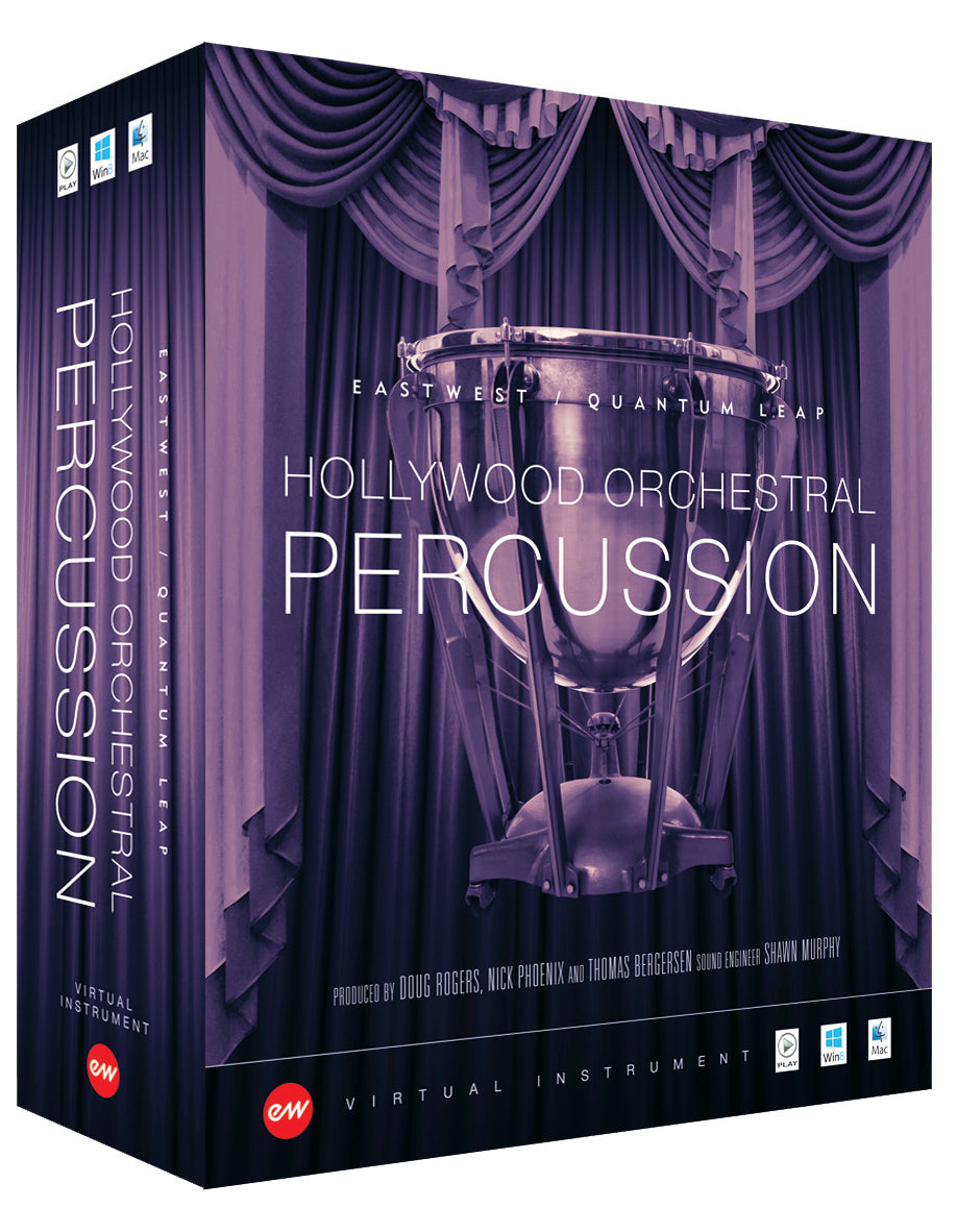 EastWest Hollywood Orchestral Percussion - Gold