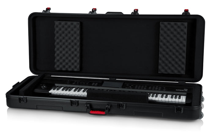Gator Cases TSA ATA Molded 76-Note Keyboard Case W/ Wheels