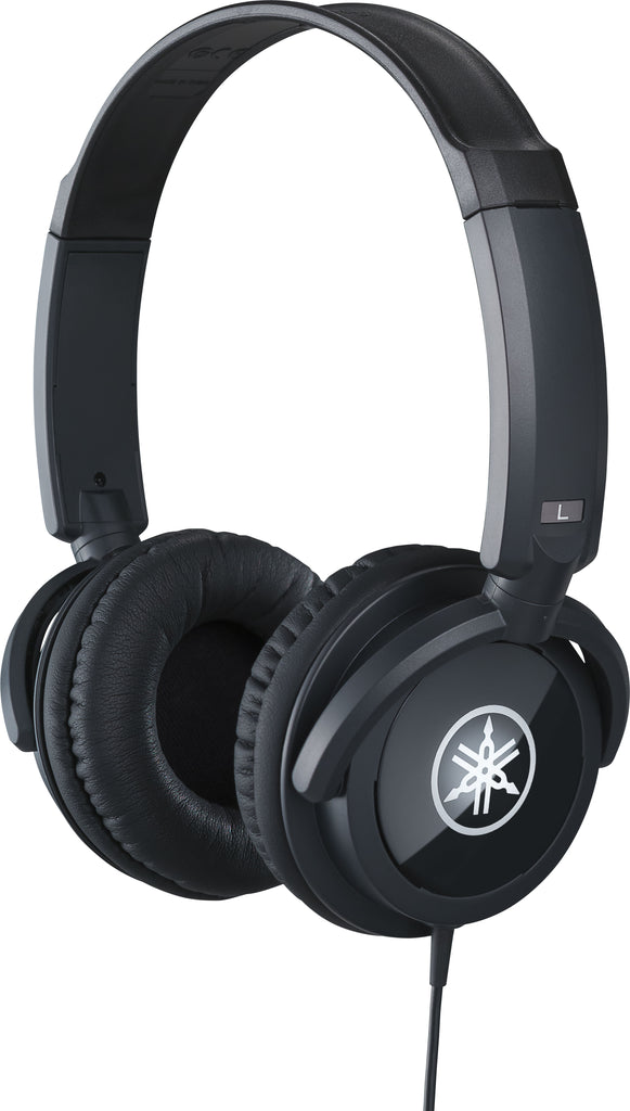 Yamaha HPH100B Closed Back Headphones - Black