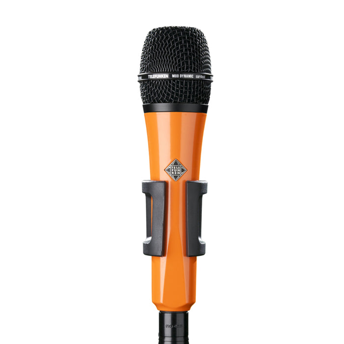 Telefunken Elektroakustik M80 Custom Dynamic Microphone - Orange With Black