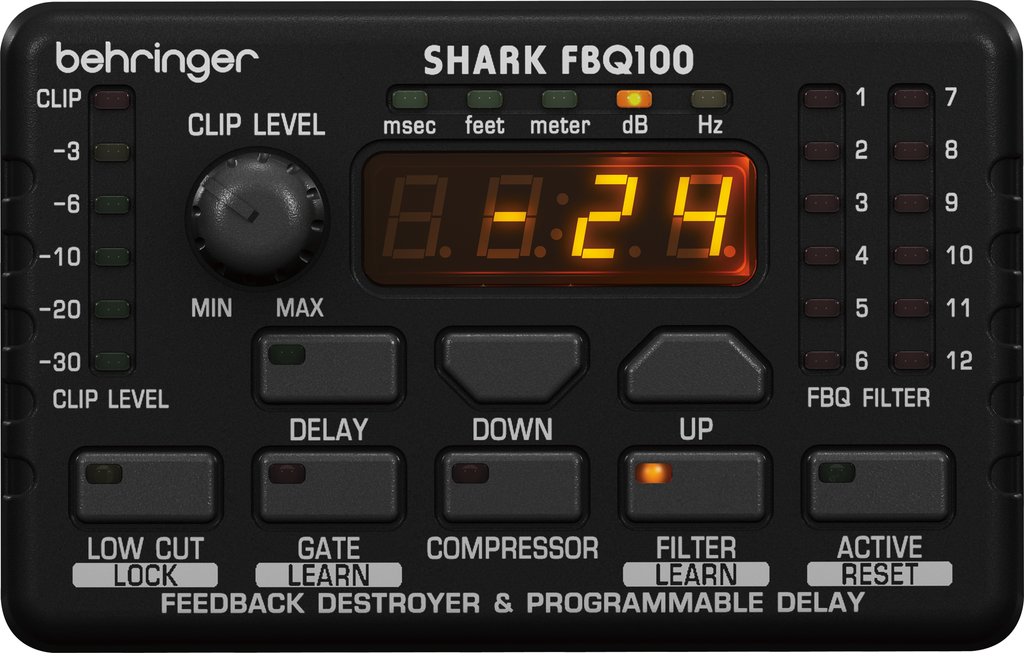Behringer Shark FBQ100 Automatic Feedback Destroyer
