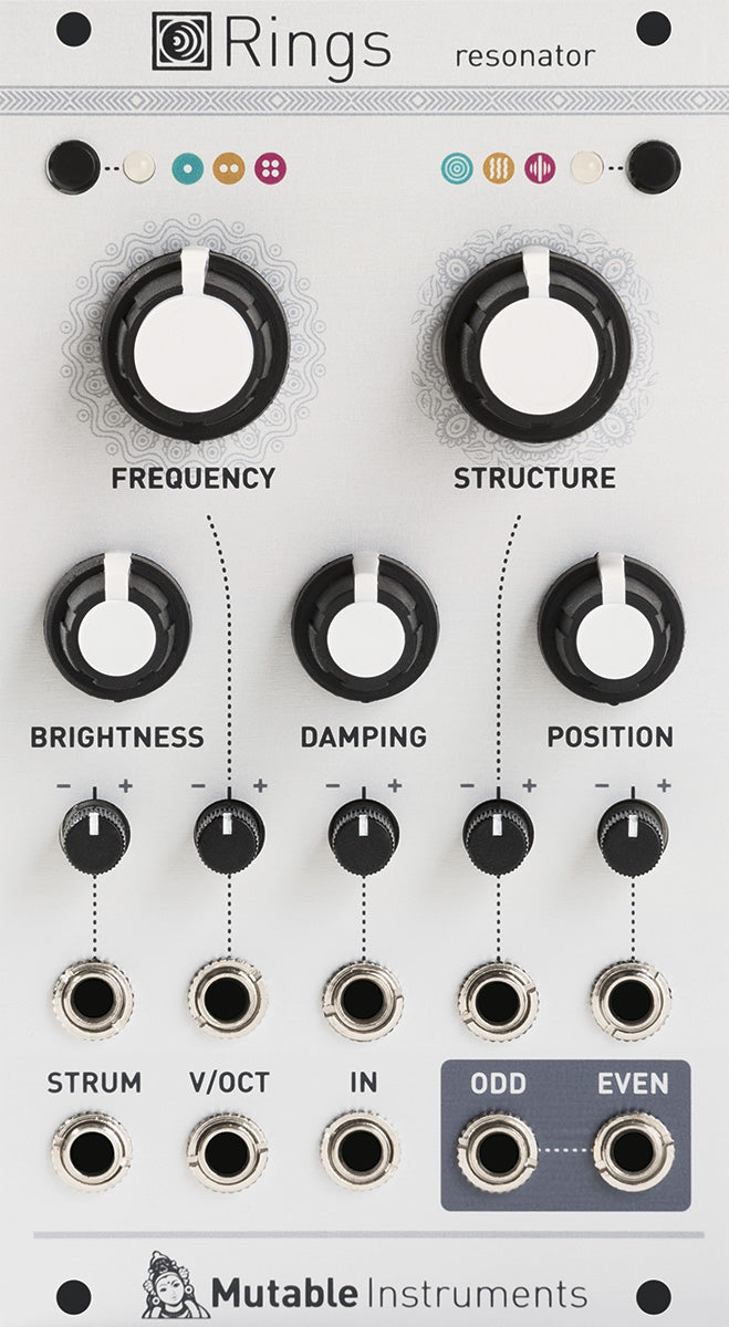 Mutable Instruments Rings Resonator Eurorack Module