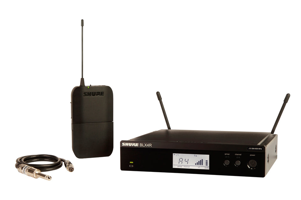 Shure BLX14R-H9 Bodypack Wireless System For Guitar
