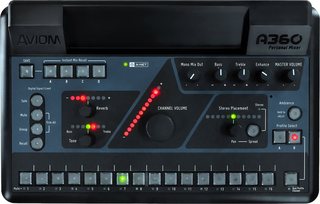 Aviom A360 Personal Mixer Monitor