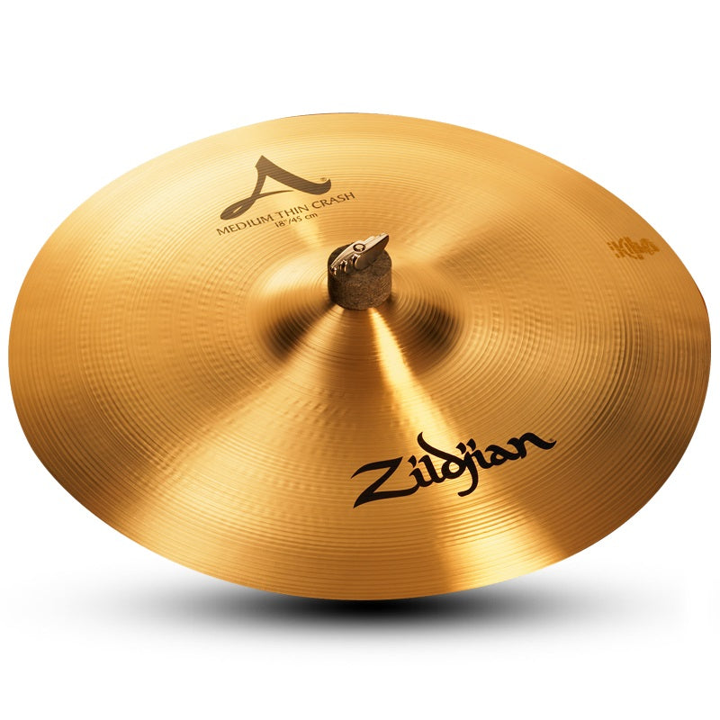 "Zildjian 18"" A Medium Thin Crash Cymbal"
