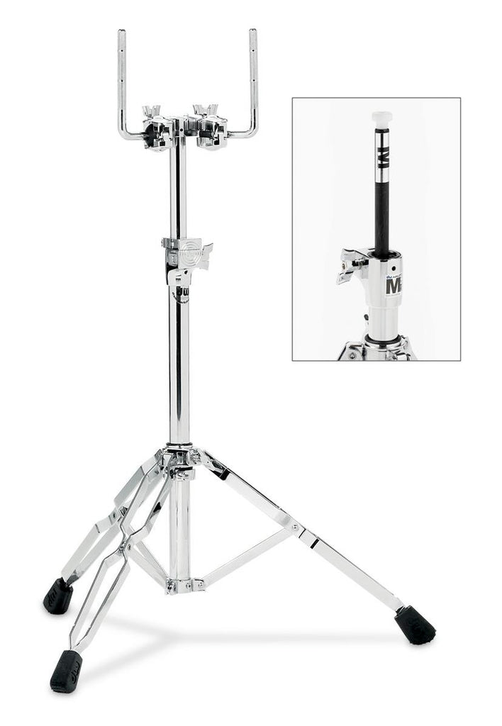 Drum Workshop DWCP9900AL Heavy Duty Air Lift Double Tom Stand