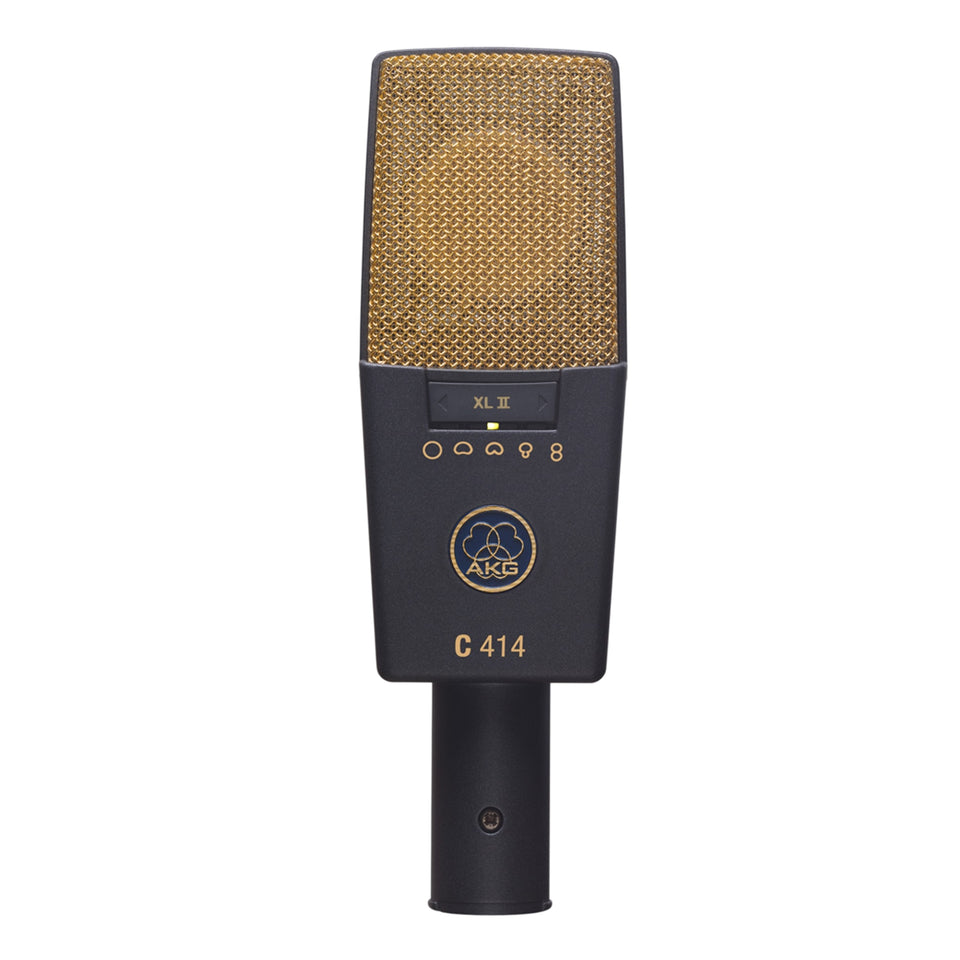 AKG C414 XLII Reference Multi Pattern Condenser Microphone (USED)