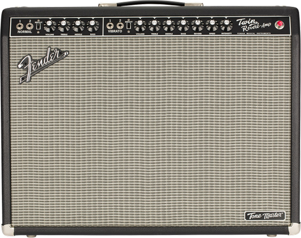 "Fender Tone Master Twin Reverb 200W 2x12"" Guitar Combo Amp"