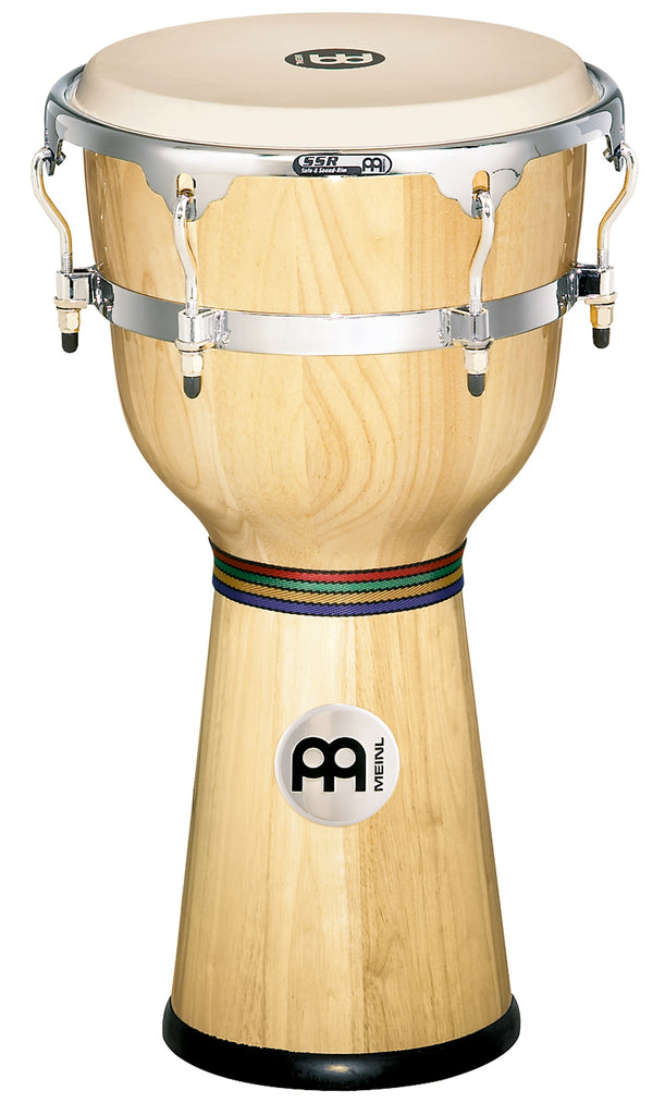 Meinl DJW3NT Floatune Series Wood Djembe-Natural