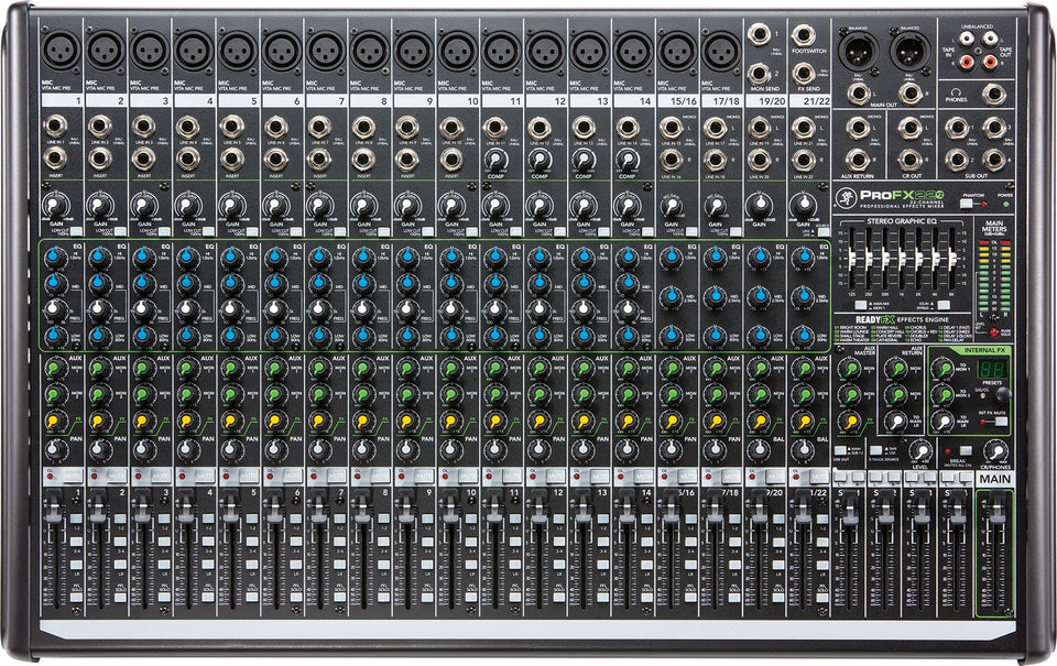 Mackie ProFX22v2 22 Channel 4-Bus Mixer
