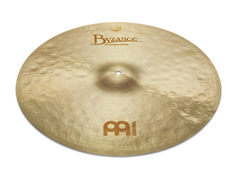 "Meinl 22"" Byzance Jazz Medium Thin Ride Cymbal"