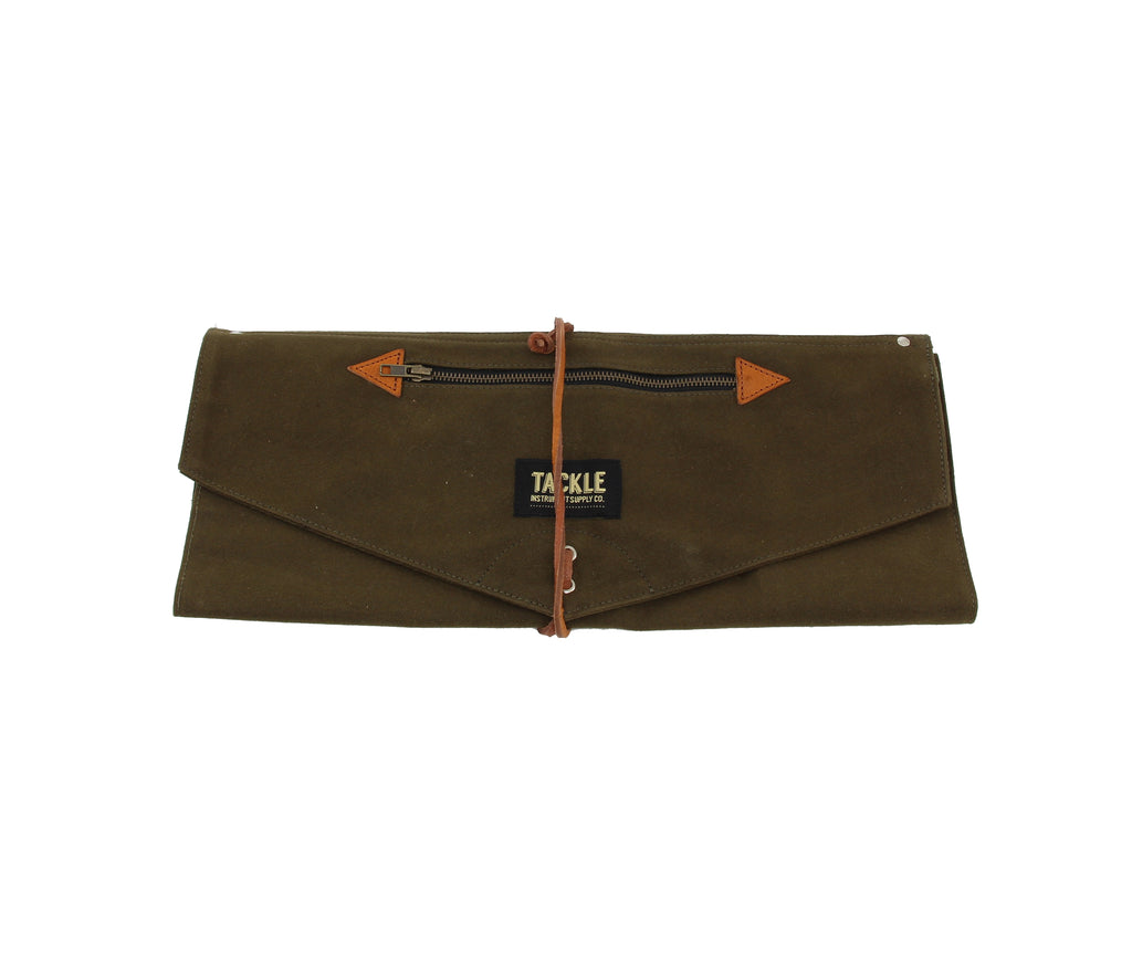 Tackle Waxed Canvas Roll-Up Stick Bag