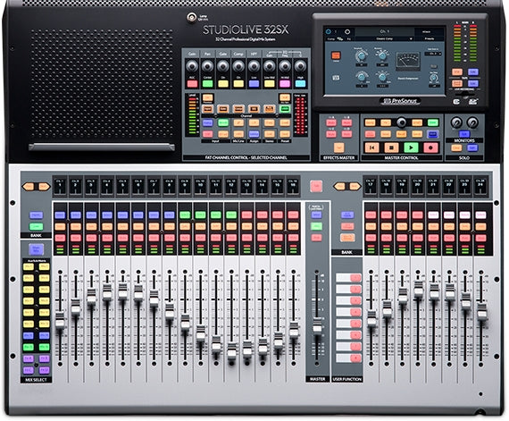 Presonus StudioLive 32SX Compact 32-Channel Digital Mixer