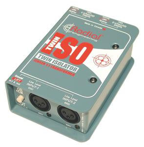 Radial Engineering Twin-Iso Two Channel Signal Isolator with Jensen Transformers