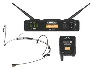 Line 6 XD-V75HS 14 Channel Digital Headset Wireless System - 2.4 GHz (Black)