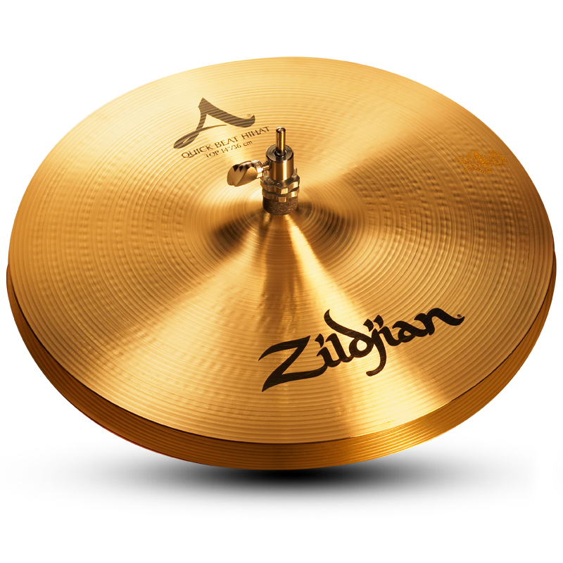 "Zildjian 14"" A Quick Beat Hi-Hat Cymbal Top"