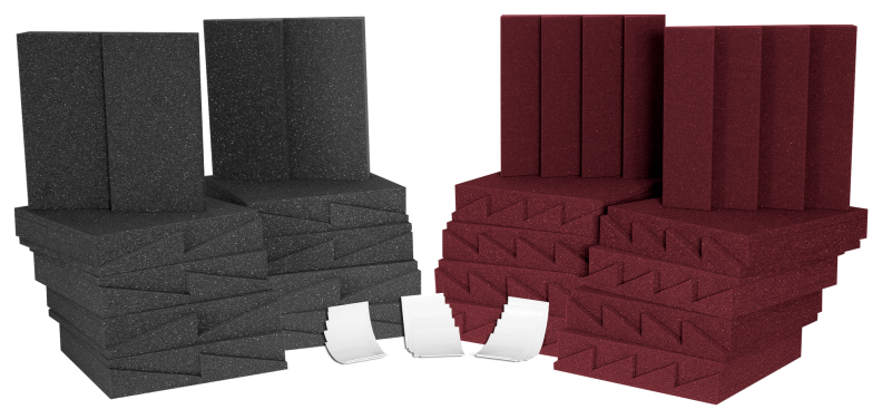 AURALEX ACOUSTICS D36CHA/BUR D36 Roominator Acoustic Treatment Kit - Burgundy